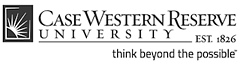Case western reserve university logo - small gray