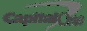 capital one logo - small gray