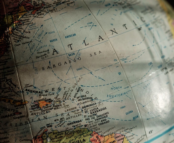 Transformations - globe and map - chart your course