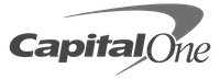 capital one logo - small gray