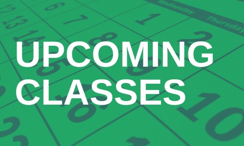 Training Class - Upcoming Classes